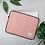 Thumbnail: Coral Pinstripe Laptop Sleeve