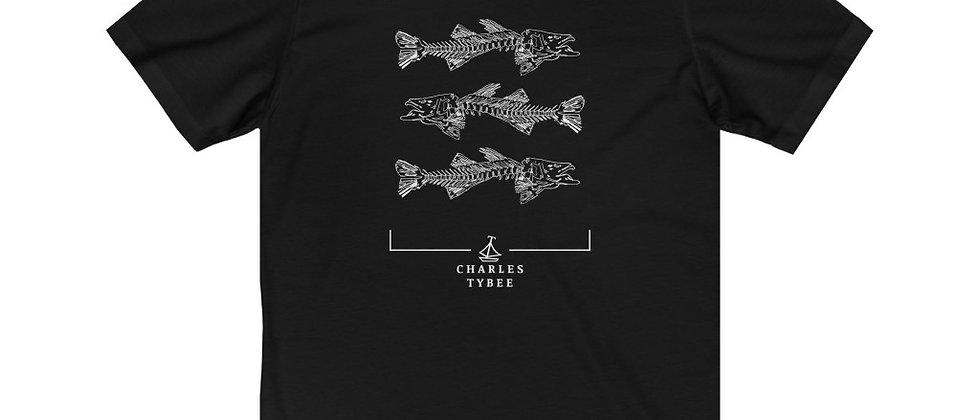 Original Fishbone T-Shirt by Charles Tybee