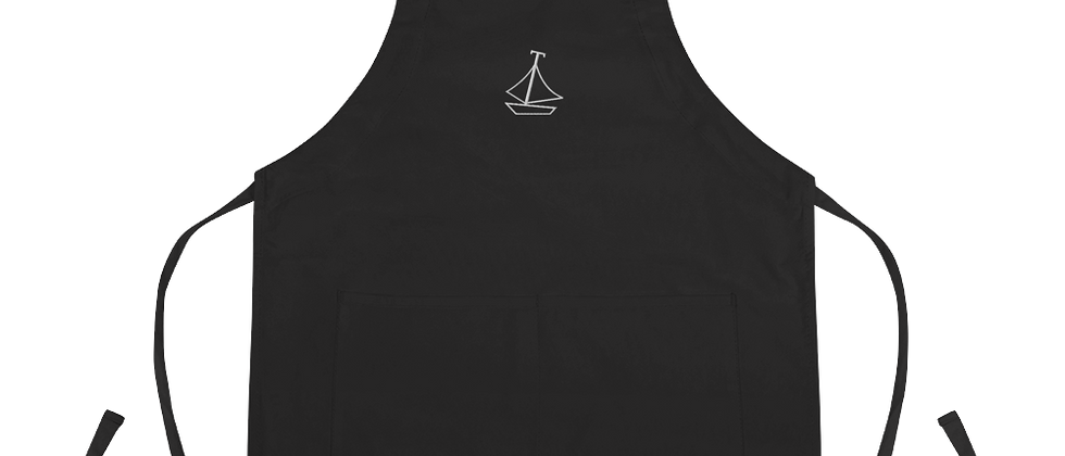 Classic Embroidered Apron