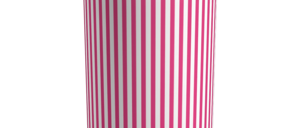 Pink Stripe Tumbler by Charles Tybee