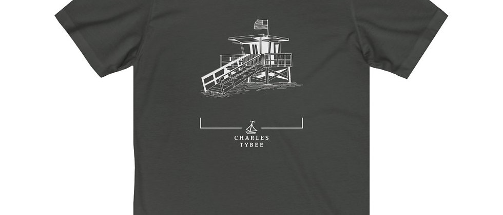 Original Lifeguard Stand T-Shirt by Charles Tybee