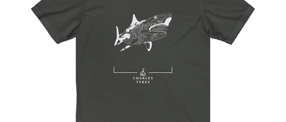 Original Shark T-Shirt by Charles Tybee