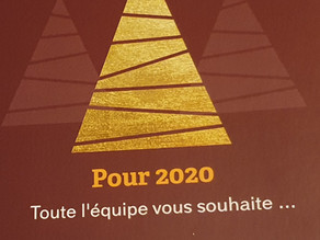 Pour 2020...