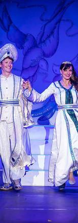 Aladdin & Jasmine - The Conjurors.