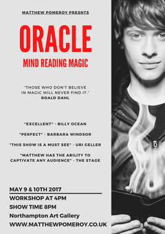 Mind Reading Magic Poster