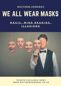 We All Wear Masks Poster