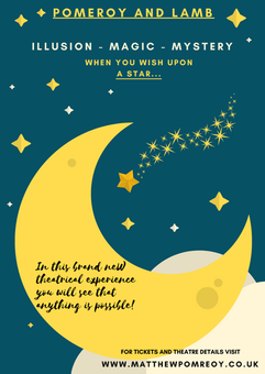 Star and Moon Poster