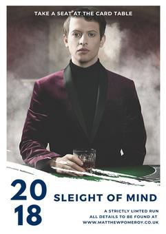 Slight Of Mind Poster