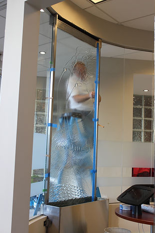 Installing the Glass