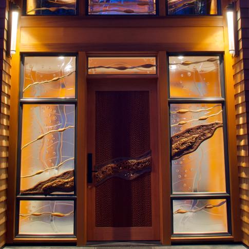 Arnim Rodeck Entranceway