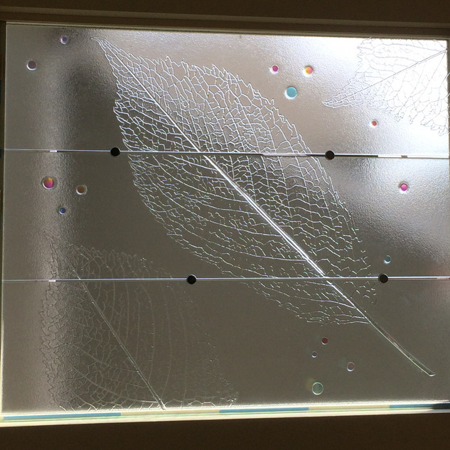 Cherry Leaf Window