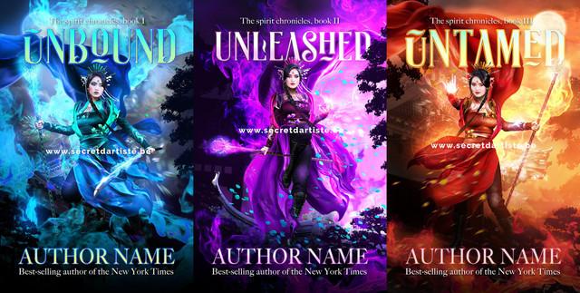 Asian warrior princess trilogy