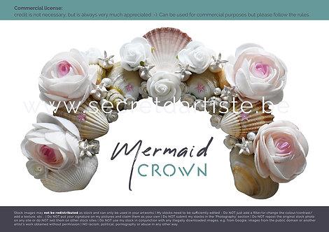 Instant download - PNG mermaid crown
