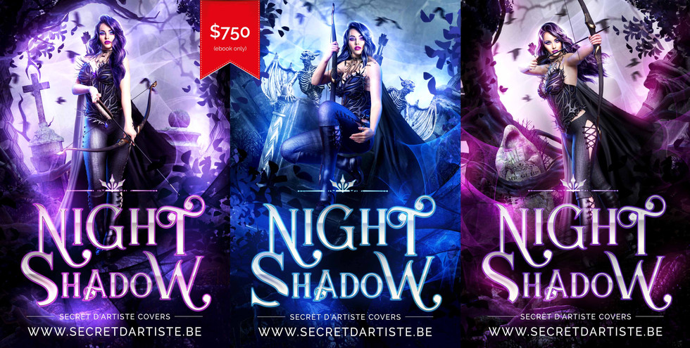 Night shadow trilogy - SOLD