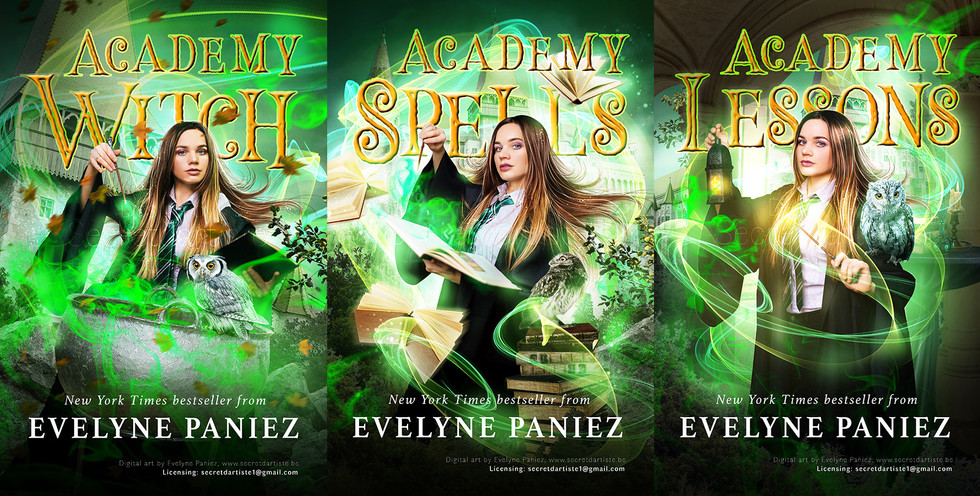 Academy witch trilogy - SOLD