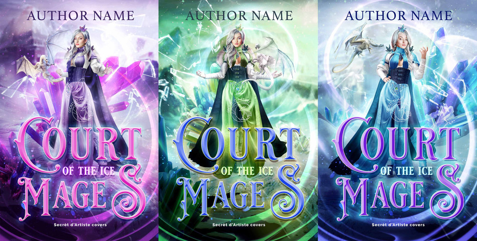 Court of mages trilogy - SOLD