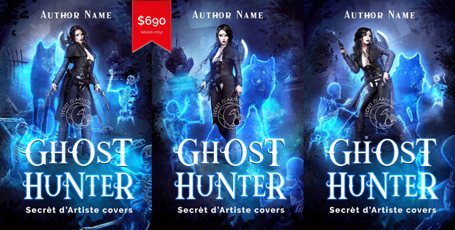Ghost Hunter trilogy - SOLD