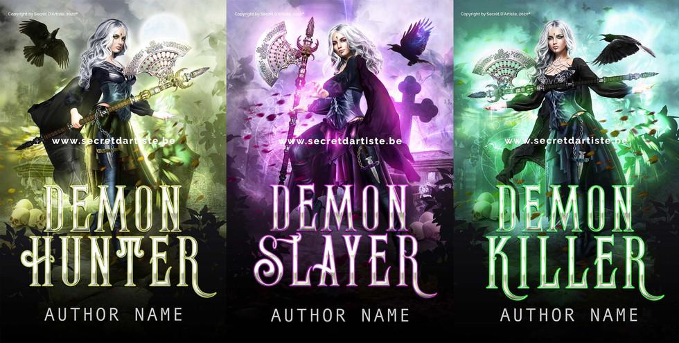 Demon hunter trilogy - SOLD