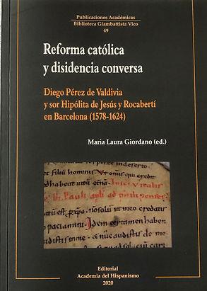 Reforma catolica y disidencia conversa,