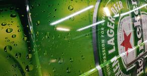 Heineken vetraut G&G Werbetechnik die Folierung der ganzen Fahrzeuflotte zu.