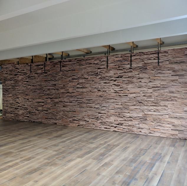 Strukturfolie auf Holzplatten