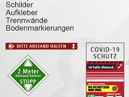 Produkte-Katalog Corona Convid-19 Sicherheit