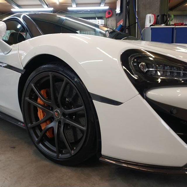 MClaren 520. Full Bodyfence Wrap. Transparent, Selfhealing. More Information on www.gg-werbetechnik