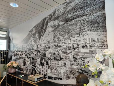 Wandfolierungen. Digitaldruck - Strukturfolien für beinahe jedes Mauerwerk, Küchen oder Möbel.