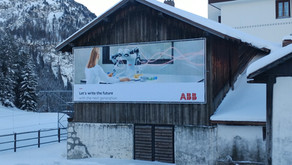 WEF Davos Big Banner System