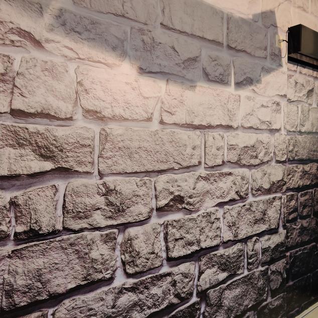 Ziegelstein Wandfolie