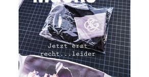 Mundschutz-Covid-Masken mit personalisiertem Logo