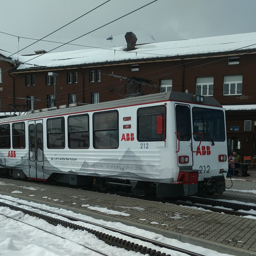 Jungfrau Zug Wrapping