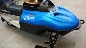 Tambo Racer Verklebung