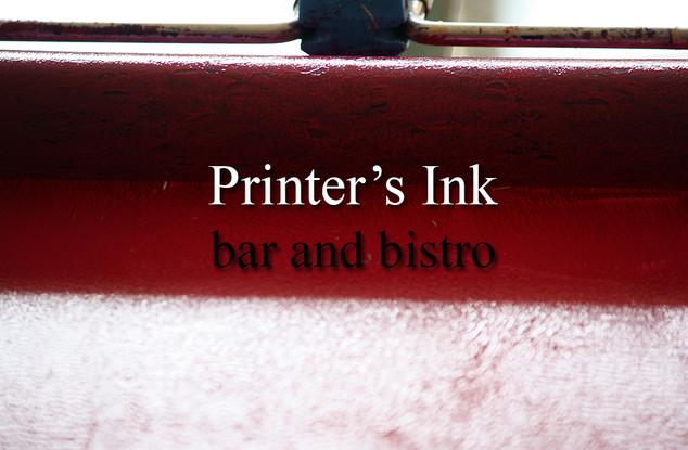 Printer's Ink