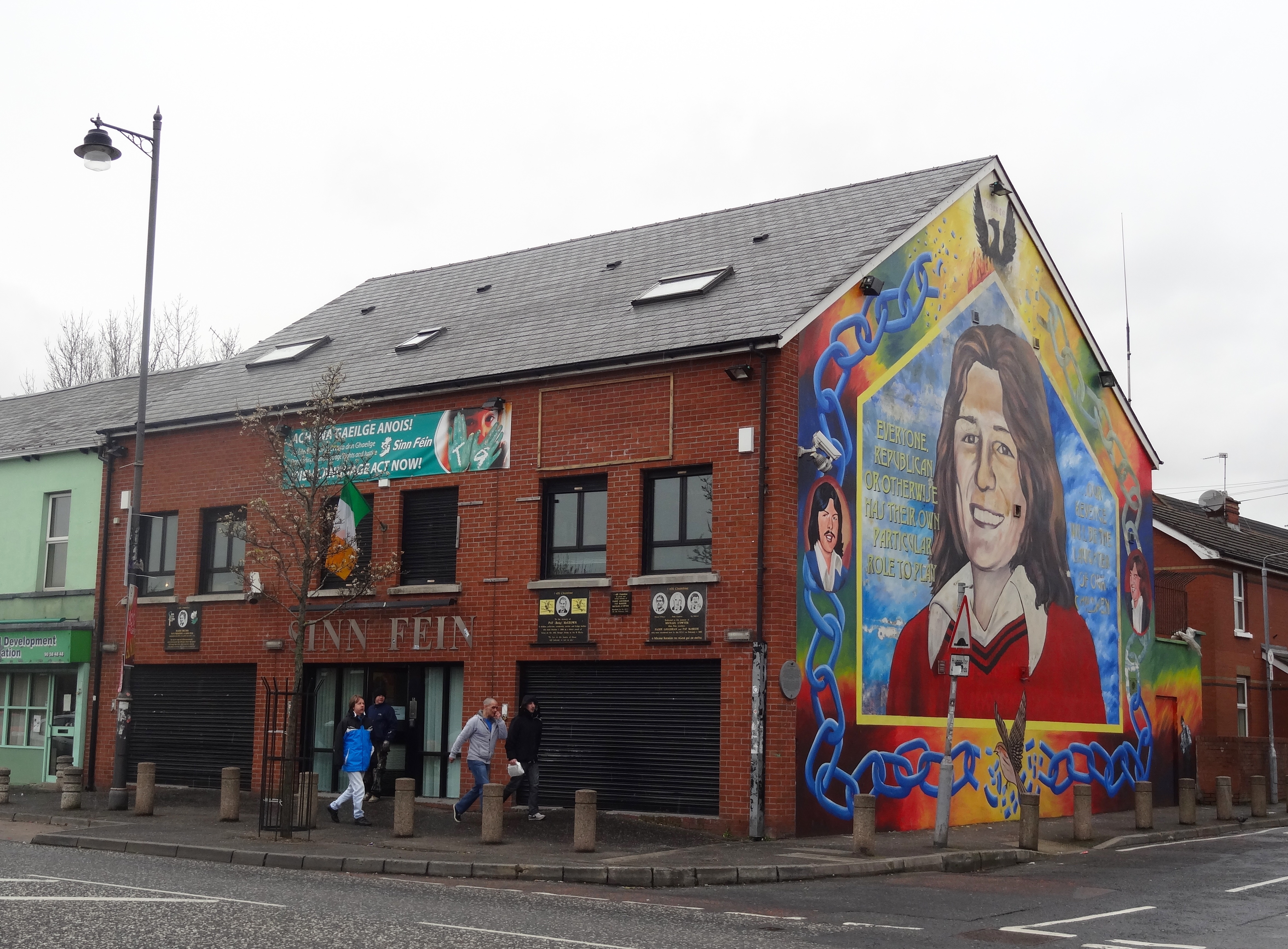Sinn Fein Headquarters, Belfast.