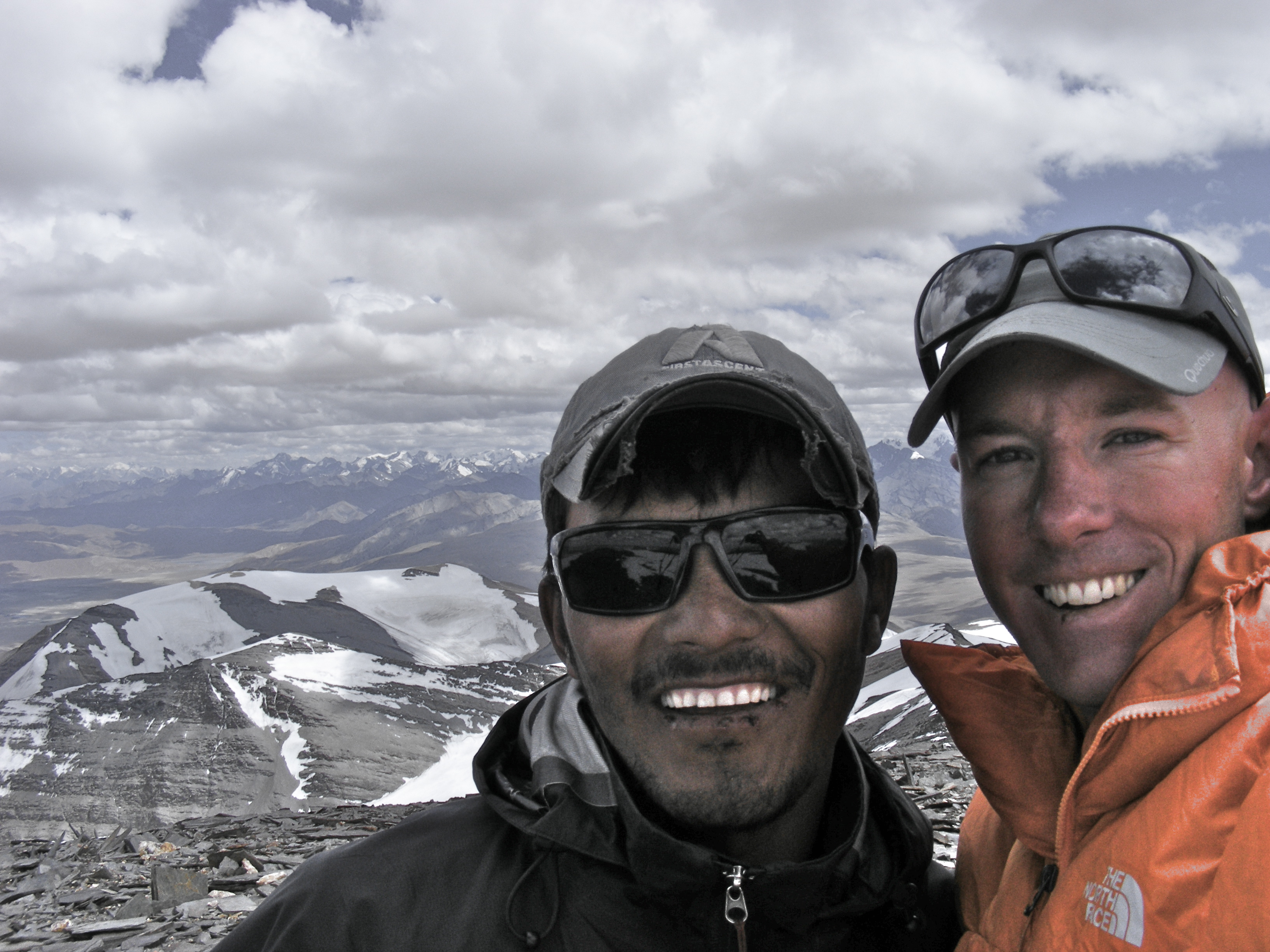 Top of Lungser Kangri (6666m), India
