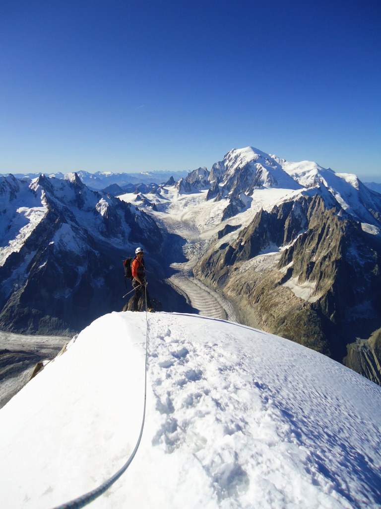 Summit of the Aiguille Verte, France