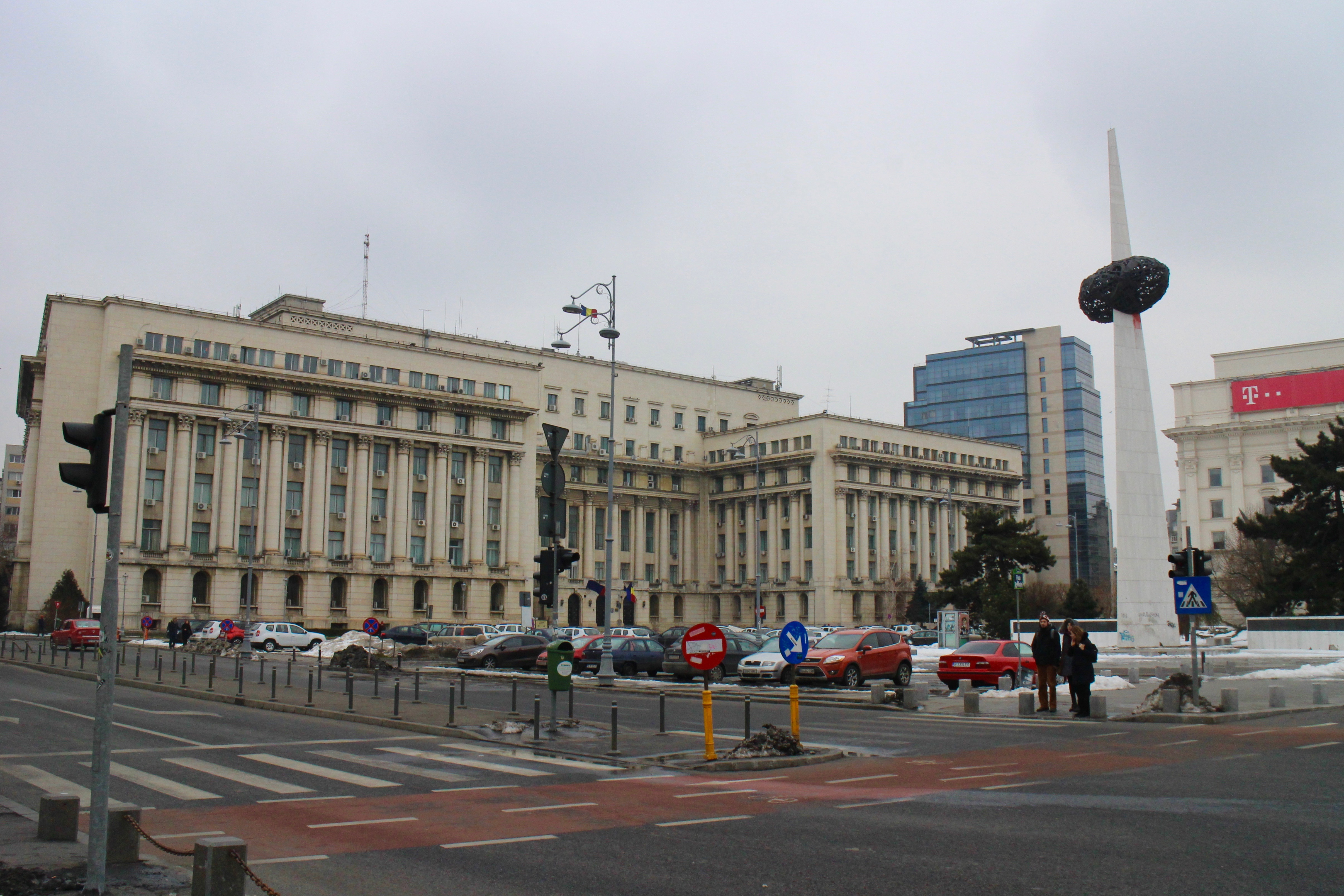Revolution Square, Bucharest.