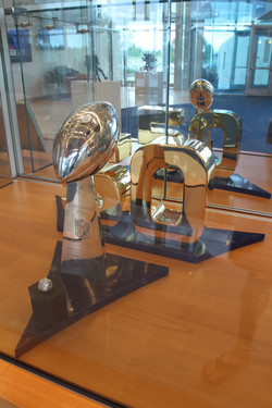 Superbowl Trophy, Denver.