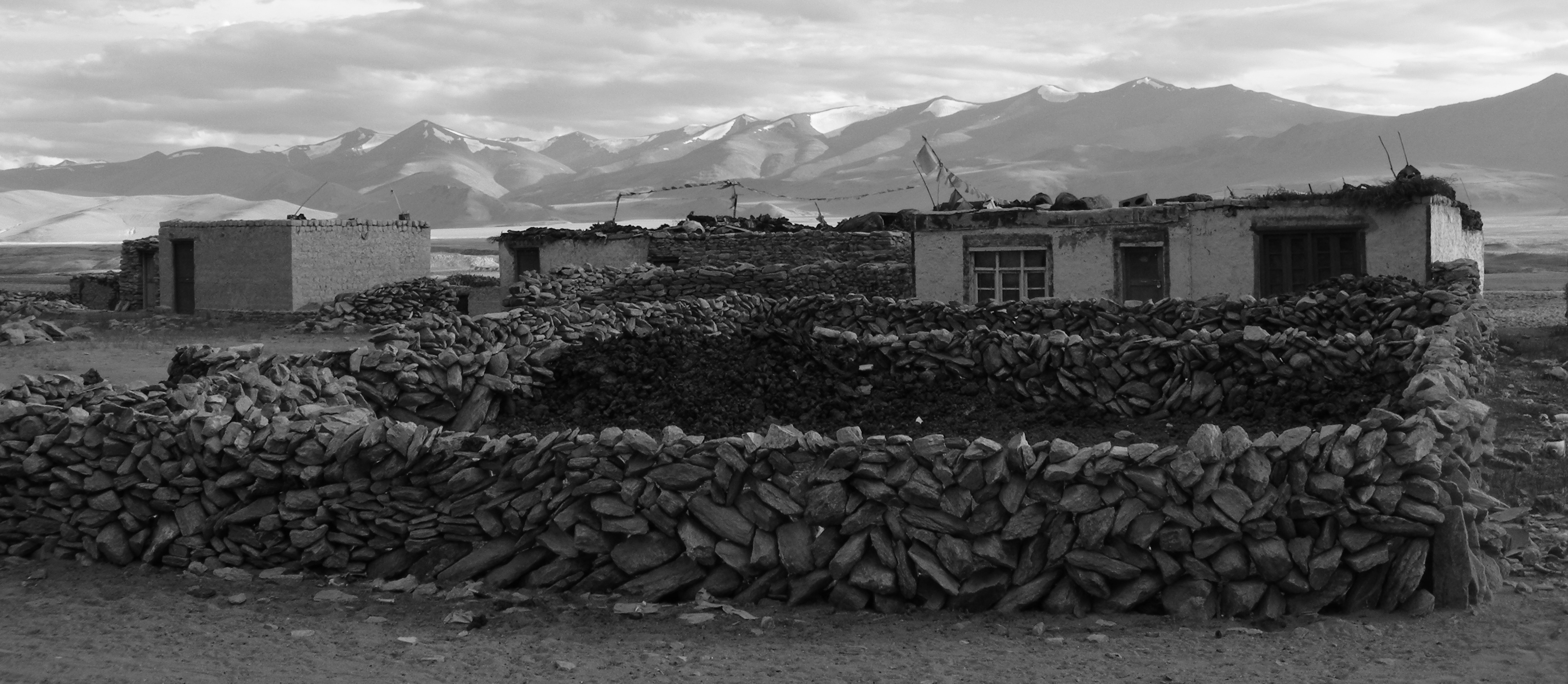 Nomad village in Ladakh, India.