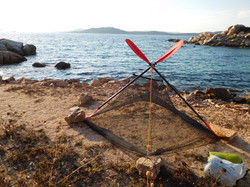 Simple accommodation on Sardinia.