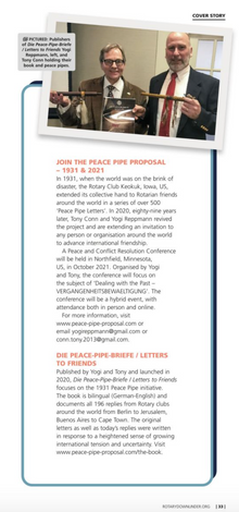 Keokuk Peace Letters in Australia