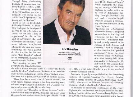 German Life, Eric Braeden - Book Review