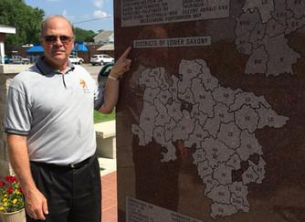 Impressive new Low German Memorial in Cole Camp, Missouri