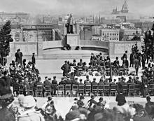 Konzept: Carl Schurz 1848er Denkmal in Berlin