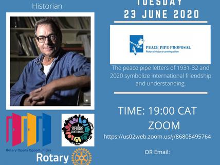 100 Peace-Pipe Mediators for Africa - Invite