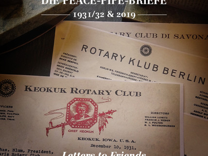 Die Peace Pipe Briefe - Letters to Friends