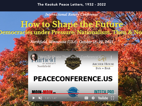 Keokuk Peace Letters, 1931: Nationalism, Then & Now