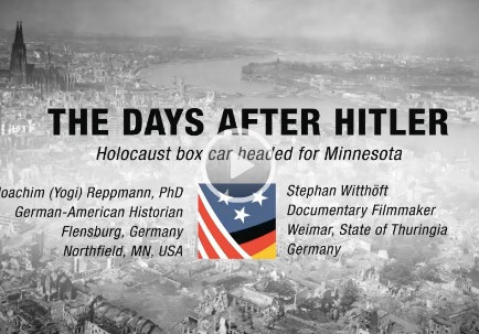 Holocaust Boxcar Headed for MN - The Days After Hitler - Exhibit at the Fagen Fighters WWII Museum,