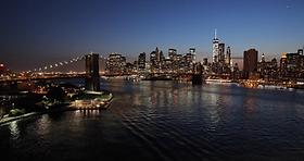 new-york-city-skyline-sunset-evening_4kv